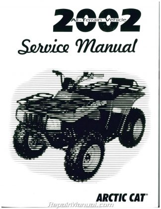 2004 Arctic Cat 90 Atv Service Manual border=