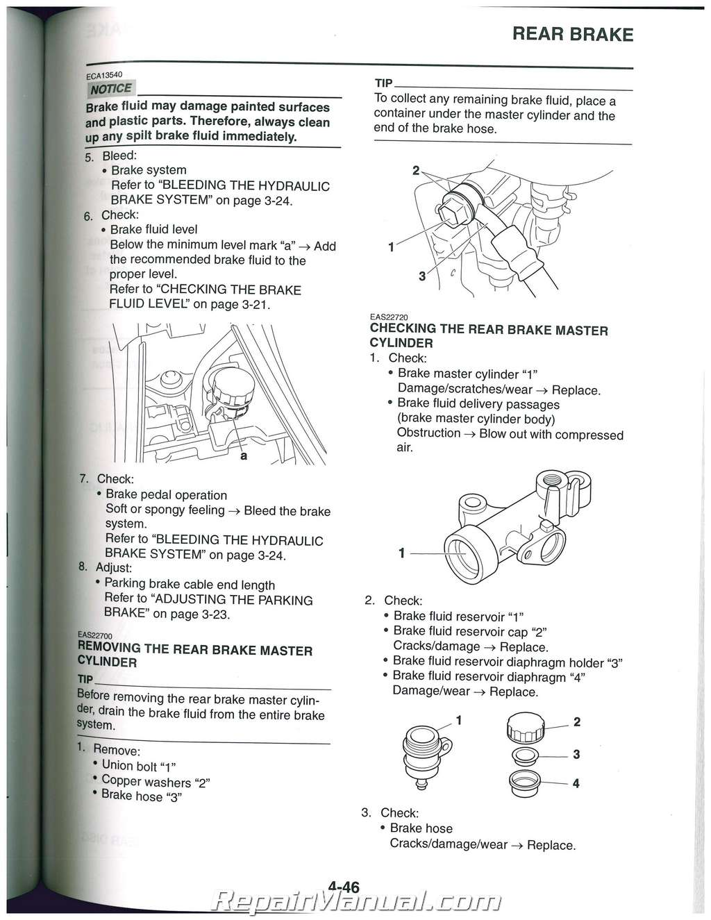 Yamaha Yfz 450 Factory Service Manual