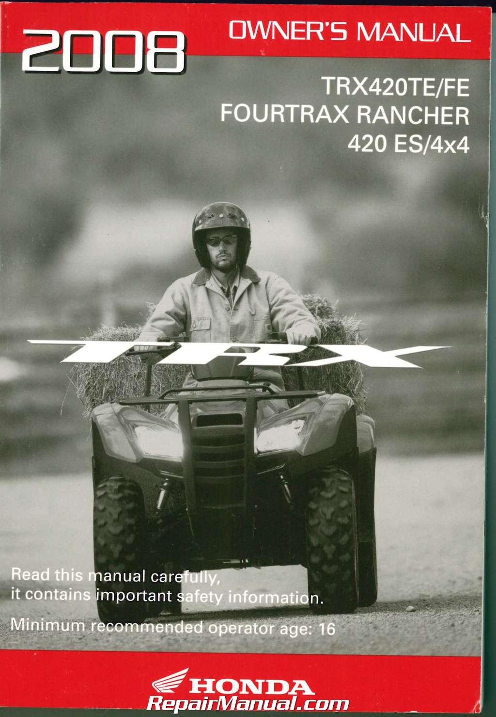 ispacegoa.com Honda Rear Brake Pads TRX 420 FPA FA Fourtrax ...