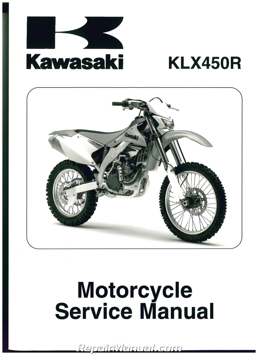 2008 2014 Kawasaki Klx450r Motorcycle Service Manual