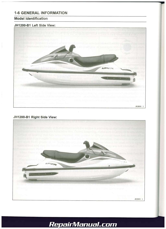 1999 Kawasaki Ultra 150 Owners Manual