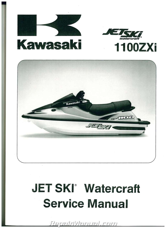 1996-2002 Kawasaki 1100 ZXi 1999 1100 STX Jet Ski Factory ...