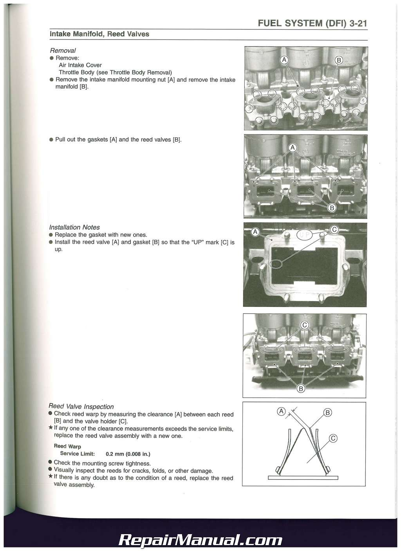 Kawasaki js550 Service manual