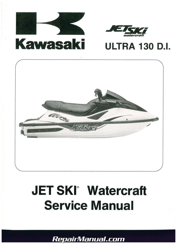 Kawasaki Ultra Di Service Manual