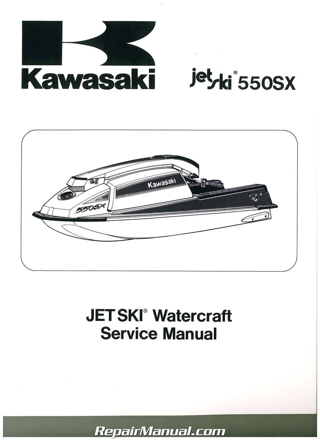 ... maintenance specifications for 1990-1993 Kawasaki JET SKI JS550-B  watercrafts. doc01149220160303143553_021.jpg ...