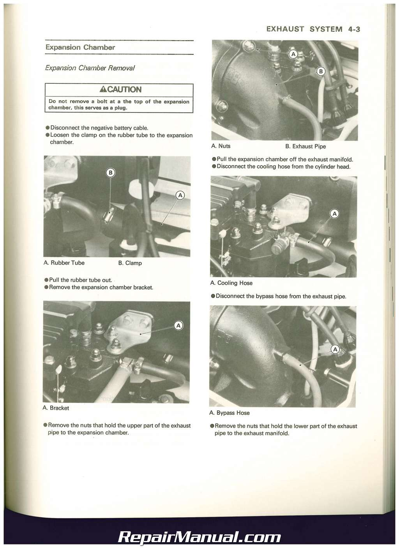 1990 1993 kawasaki jet ski js550 b factory service manual rh repairmanual  com 1985 Kawasaki JS550 Kawasaki 440 Jet Ski Parts