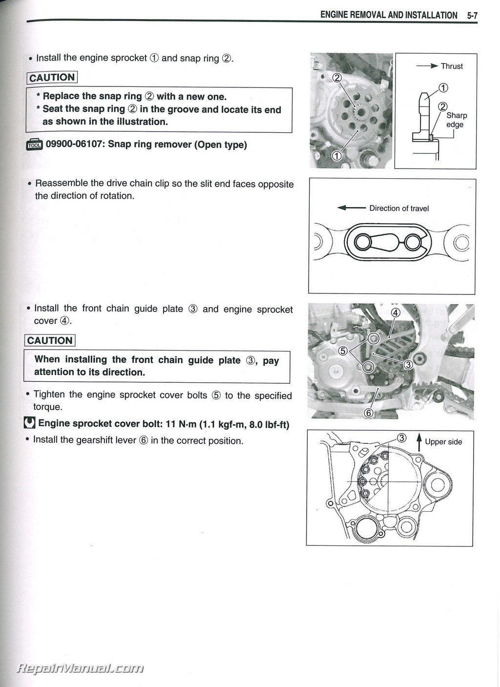 Suzuki Rm 250 Repair Manual Engine Diagram