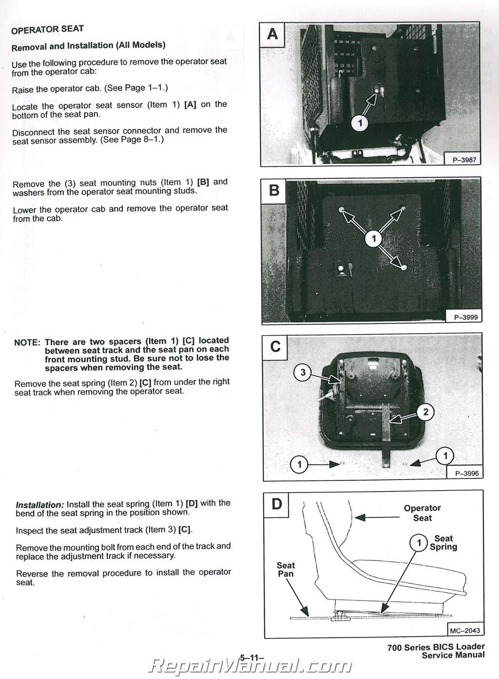 Bobcat 753 part manual