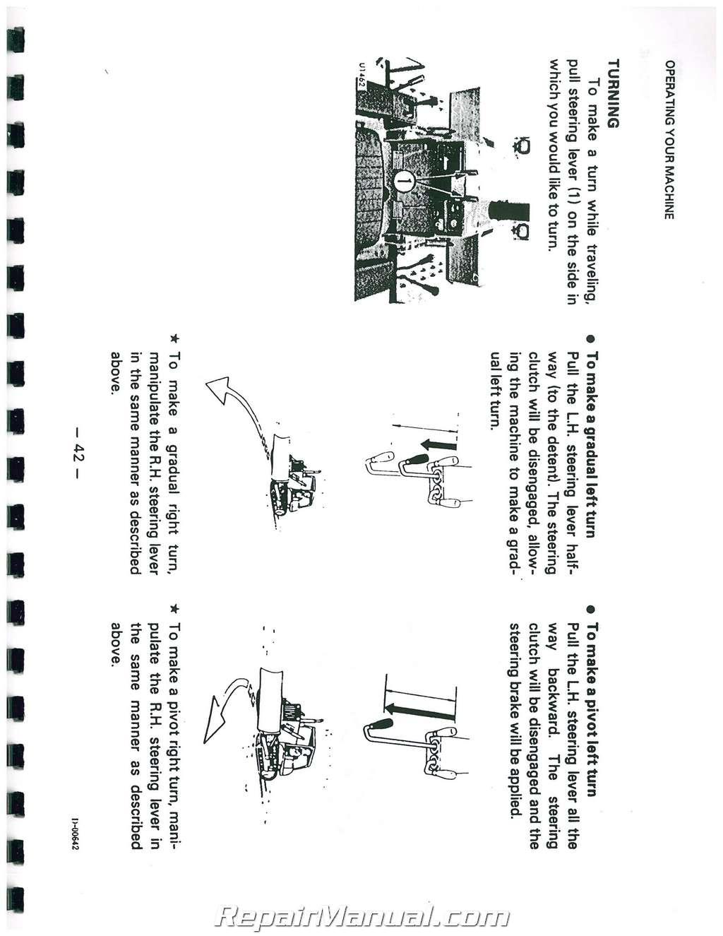Komatsu D20A D20P D20PL D21PLL D21A D21E D21P D21PL Owners Operators Manual