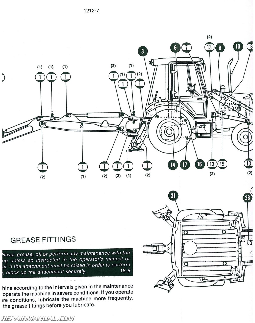 Case-International 580K TLB Service Manual