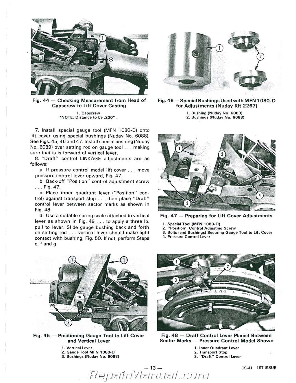 Massey Ferguson Mf245 Service Manual