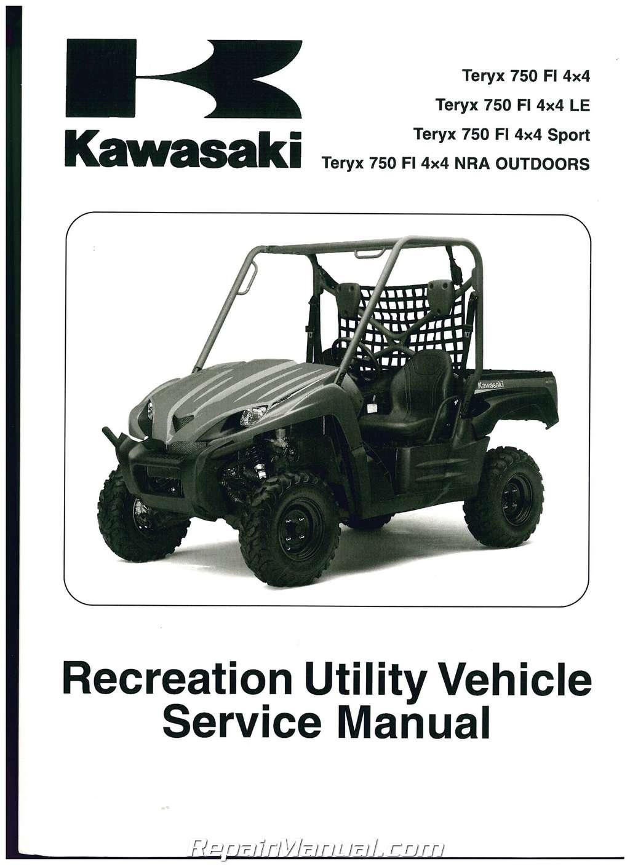 2010 kawasaki krf750n p r s teryx 750 4x4 service manual rh repairmanual com 2010 kawasaki teryx 750 owners manual 2010 kawasaki teryx owners manual
