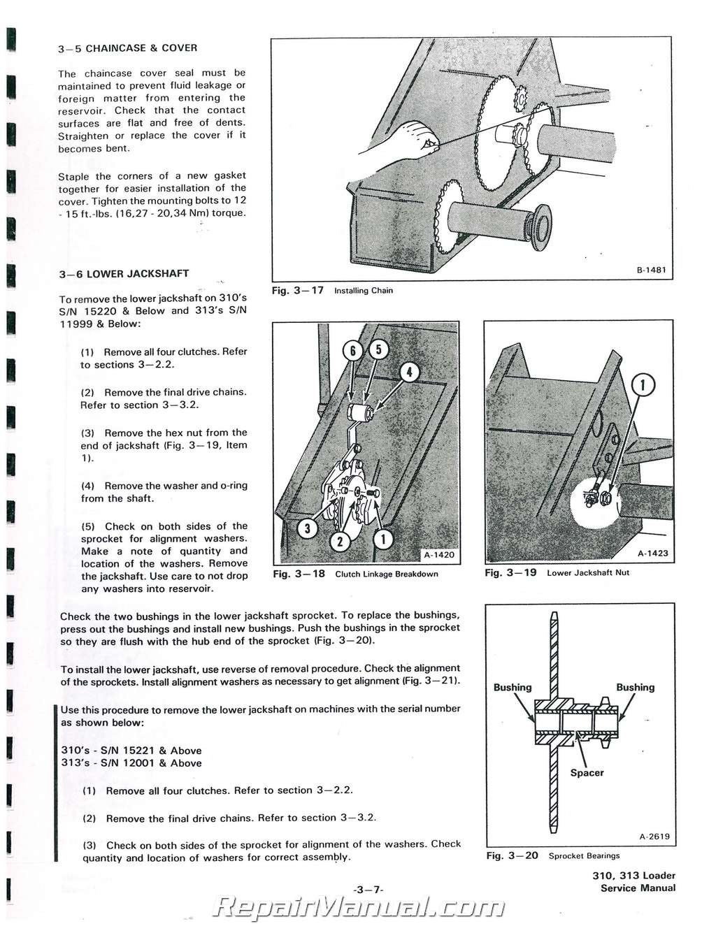 Wiring Diagram For Bobcat 310 Reinvent Your Skid Steer Diagrams 313 371 Service Manual Rh Repairmanual Com Mower