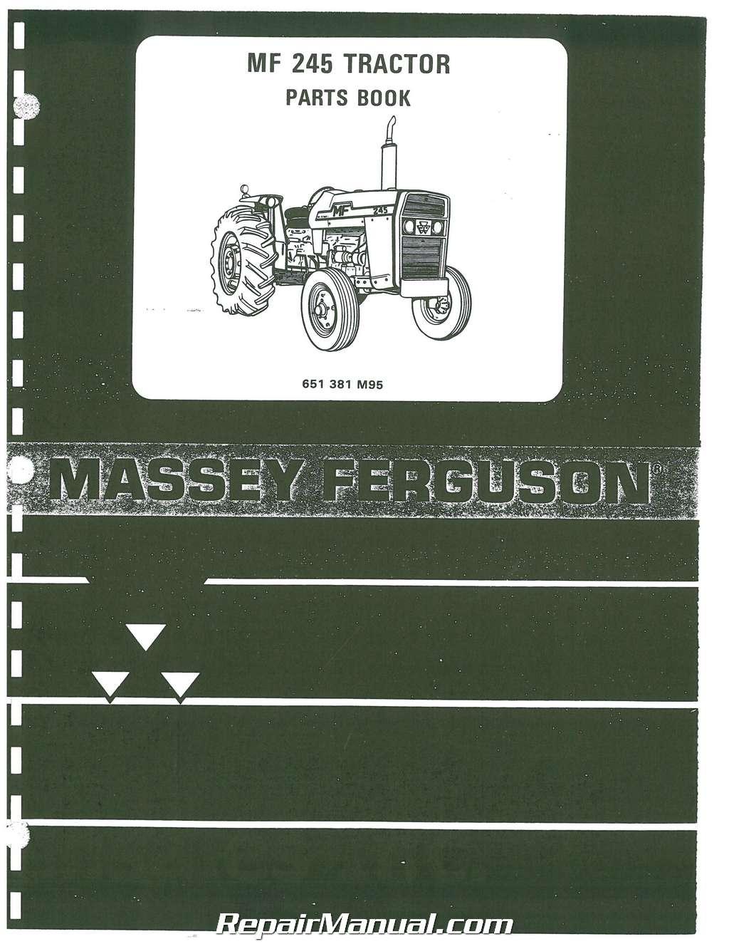 Massey Ferguson Replacement Parts : Massey ferguson parts manual