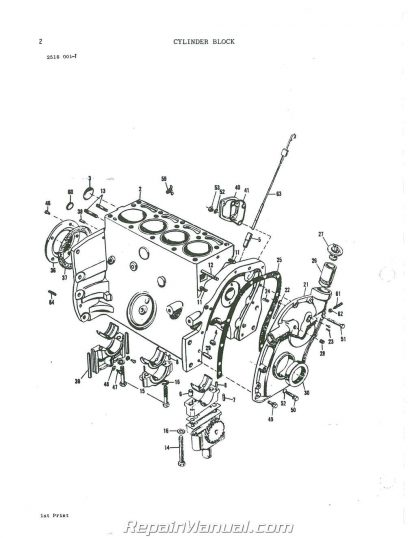 Massey Ferguson 245 Parts Manual