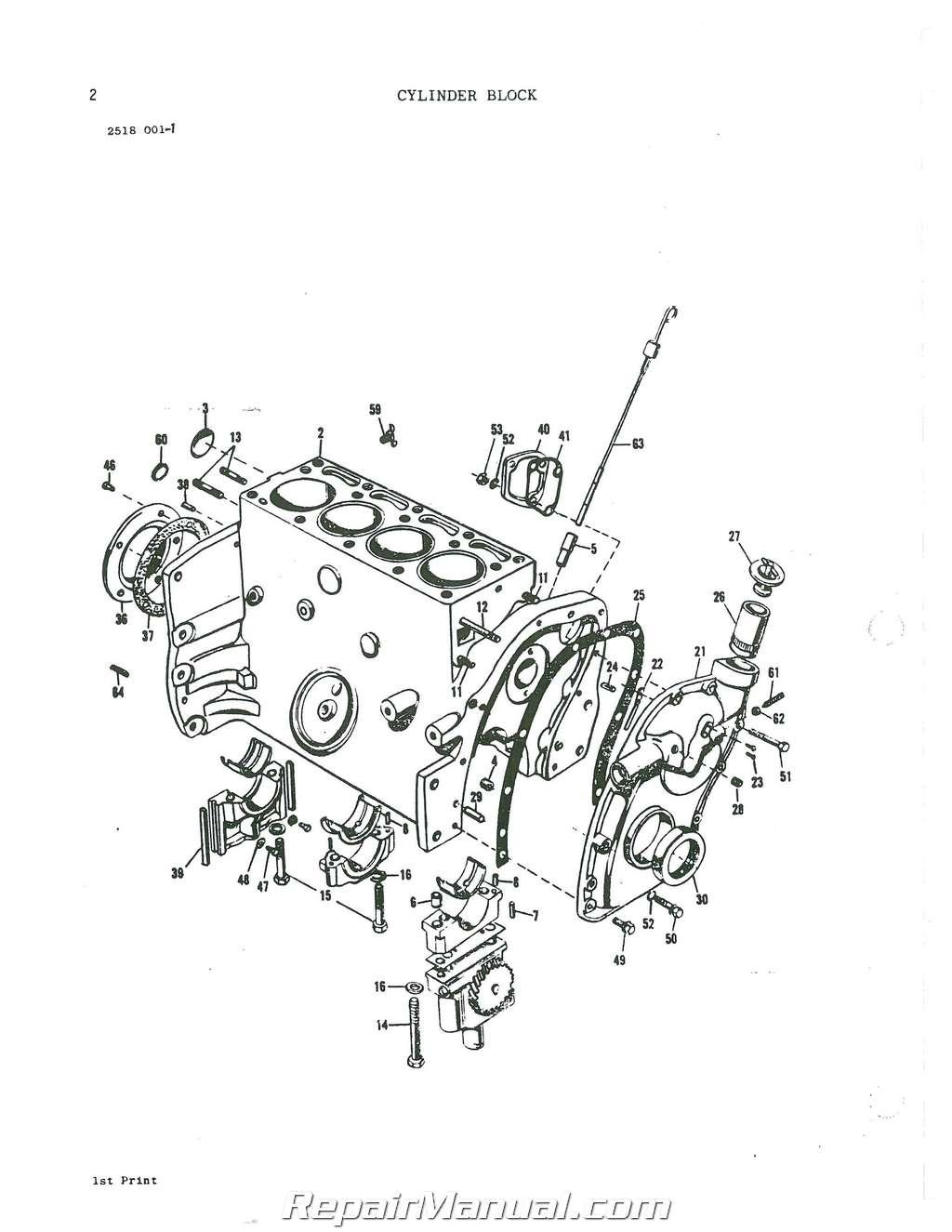 Massey Ferguson Repair Parts : Massey ferguson parts manual