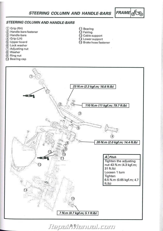 yamaha ttr230 motorcycle service manual 2005 2009 2011 2018 rh repairmanual com Yamaha TTR 230 2016 repair manual 2006 yamaha ttr 230 pdf
