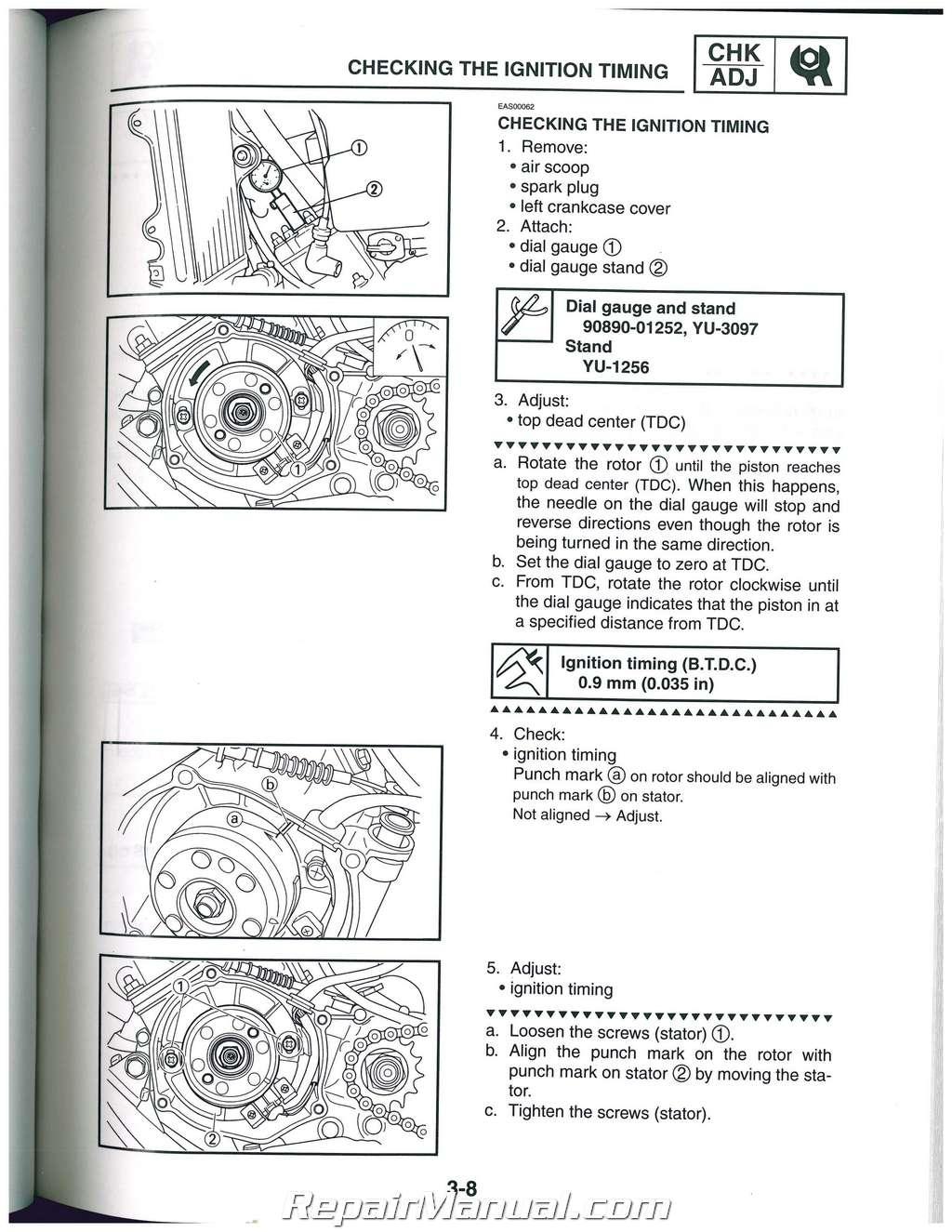 yamaha tt350s 1985 factory service repair manual