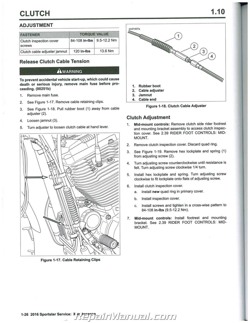 harley davidson sportster shop manual