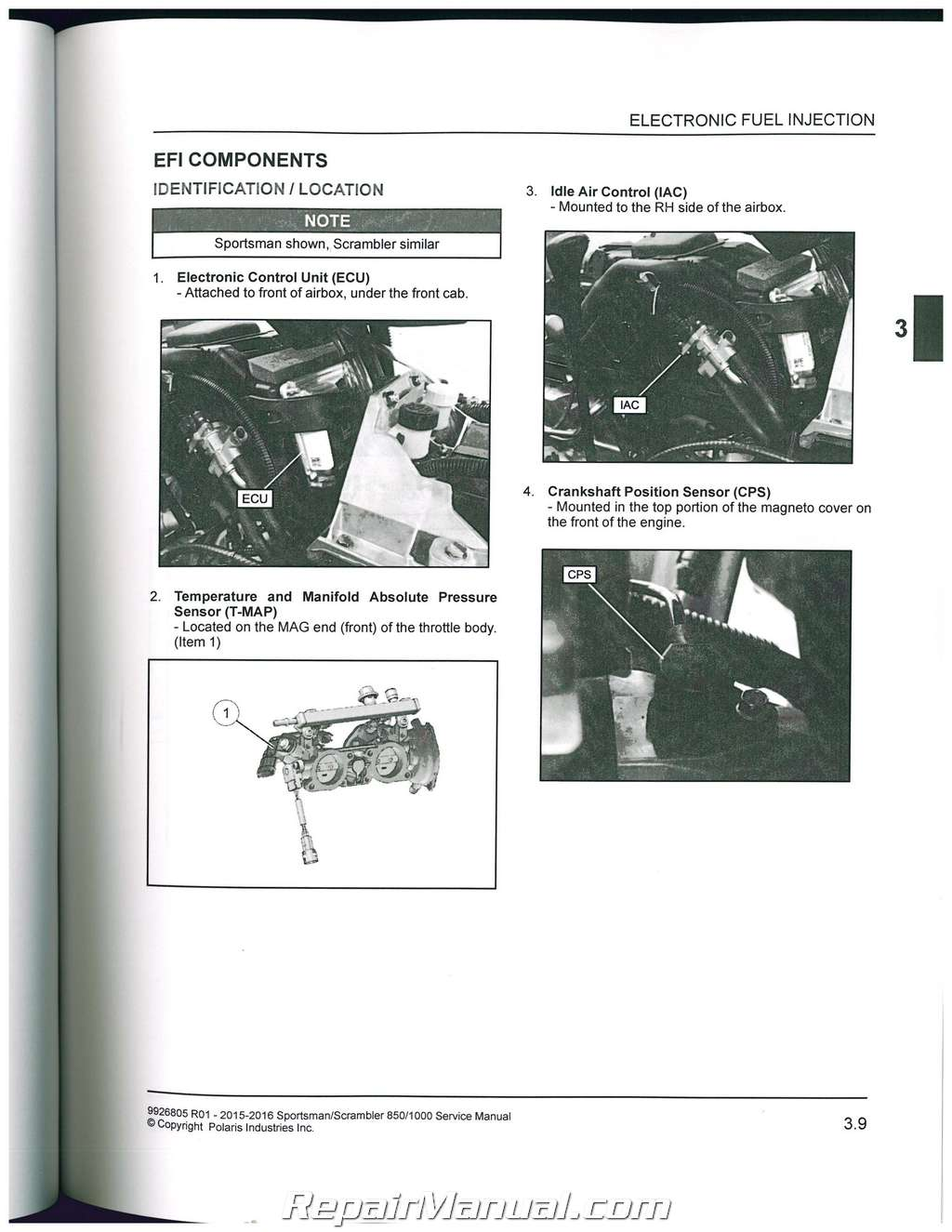 2015 2016 polaris scrambler sportsman 850 1000 atv service manual rh ebay  co uk polaris scrambler 400 repair manual polaris scrambler 90 repair  manual pdf