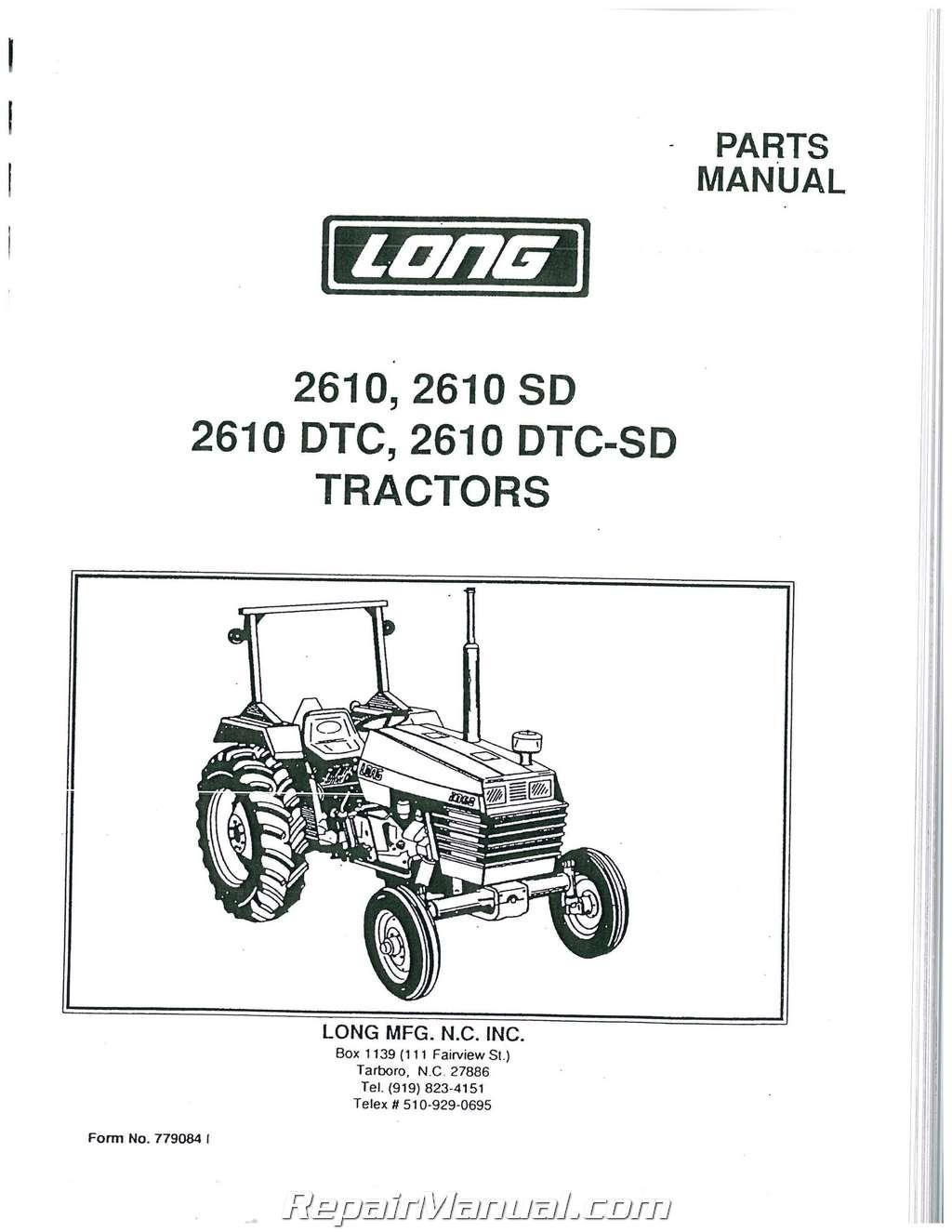 Long Backhoe Parts : Long tractor parts bing images