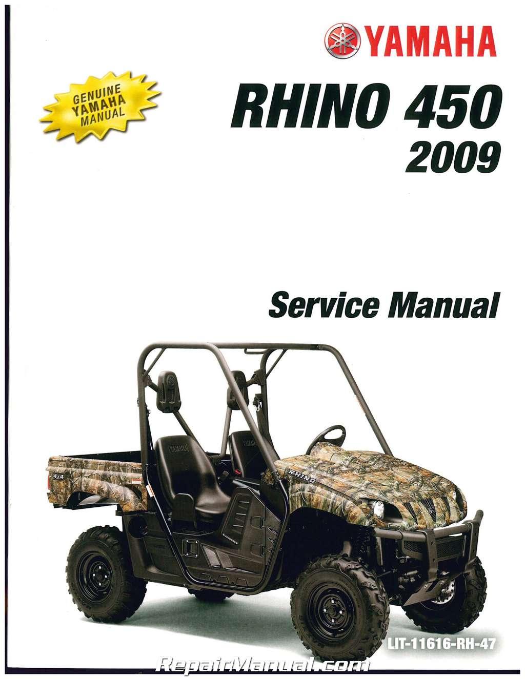 450 rhino Manual