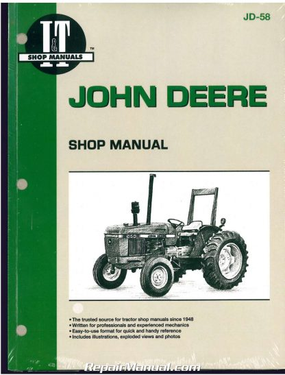 john deere 2150 2555 tractor workshop manual rh repairmanual com