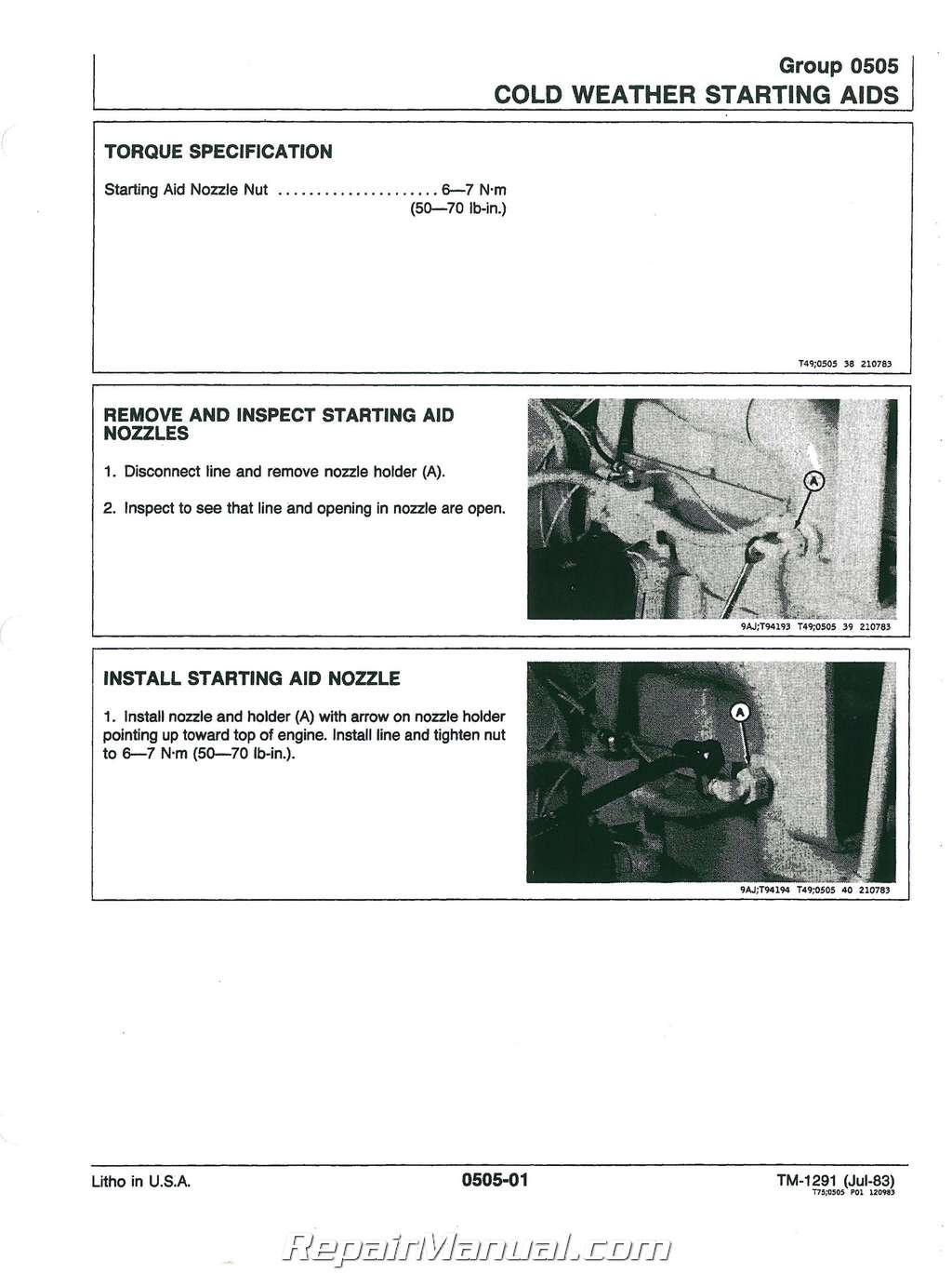 john deere 450d 455d service manual rh repairmanual com yaesu 450d service manual eos 450d service manual