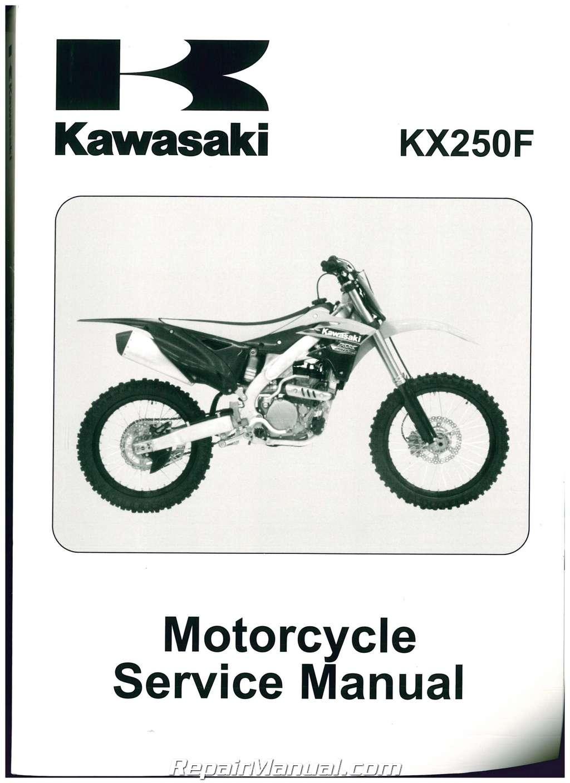 2013-2014 Kawasaki KX250Z Service Manual Model Coverage. 2013 KX250ZD