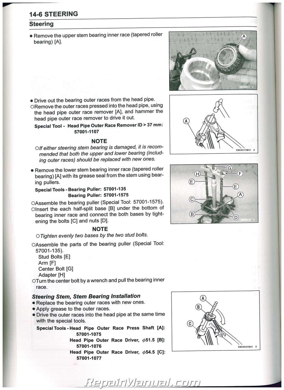 2013 2014 kawasaki kx250f service manual rh repairmanual com kx250f service manual 2004 kx250f service manual 2010