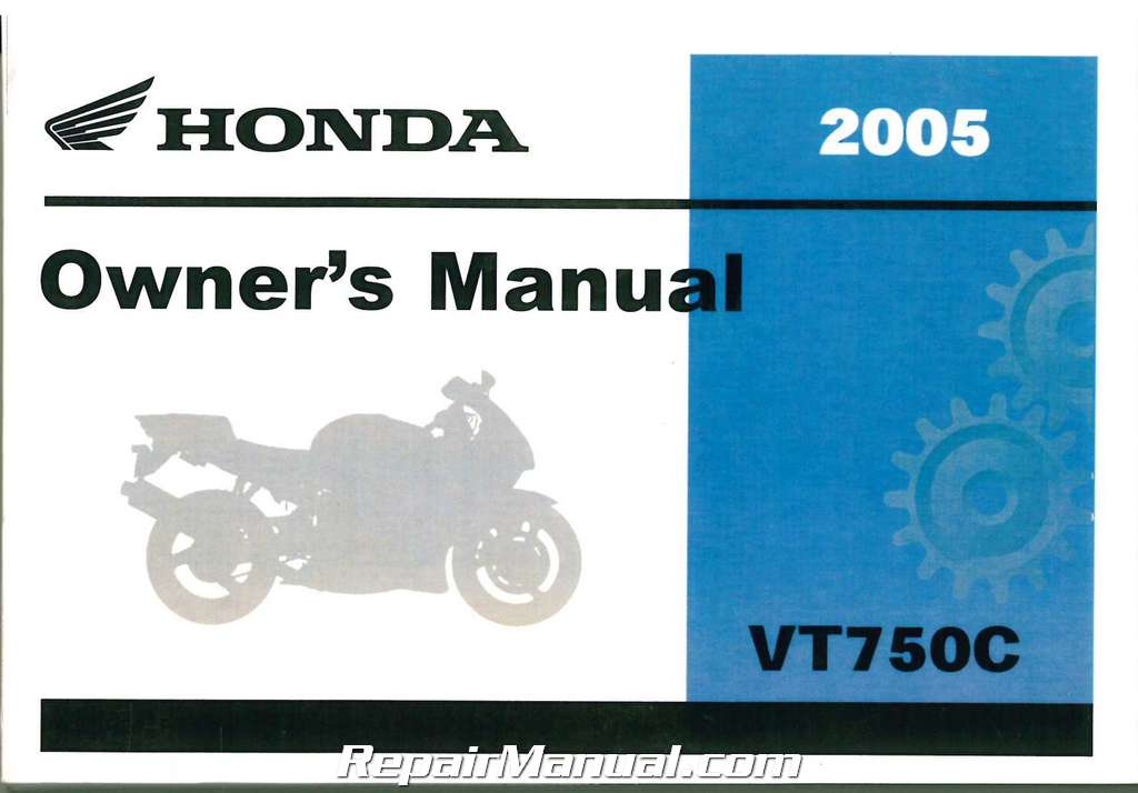 2005 honda vt750c shadow aero motorcycle owners manual rh repairmanual com 2005 honda shadow aero 750 owners manual Honda CMX 250 Owner's Manual