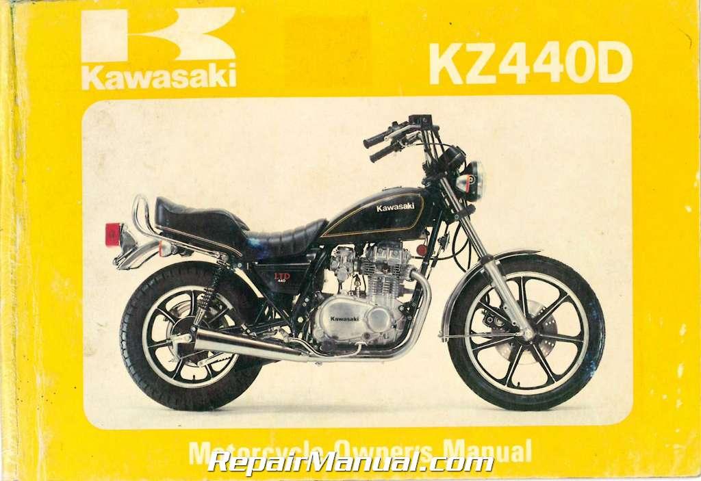 1980 kawasaki kz440 d1 ltd printed motorcycle owners manual ebay rh ebay com 1980 Kawasaki GP 1980 Kawasaki 550 LTD