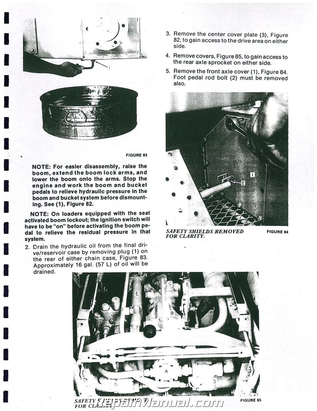 Ford New Holland L225 Skid Steer Service Manual New Holland Skid Steer Wiring Diagram L on