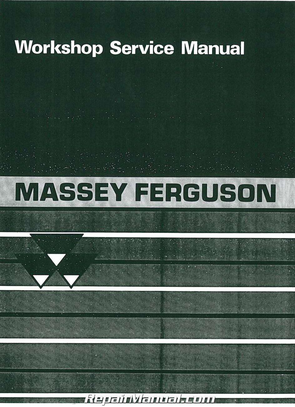 massey ferguson mf231 261 tractor workshop service manual 800 426 4214 massey ferguson 261 owners manual Massey Ferguson 261 Hydraulic System