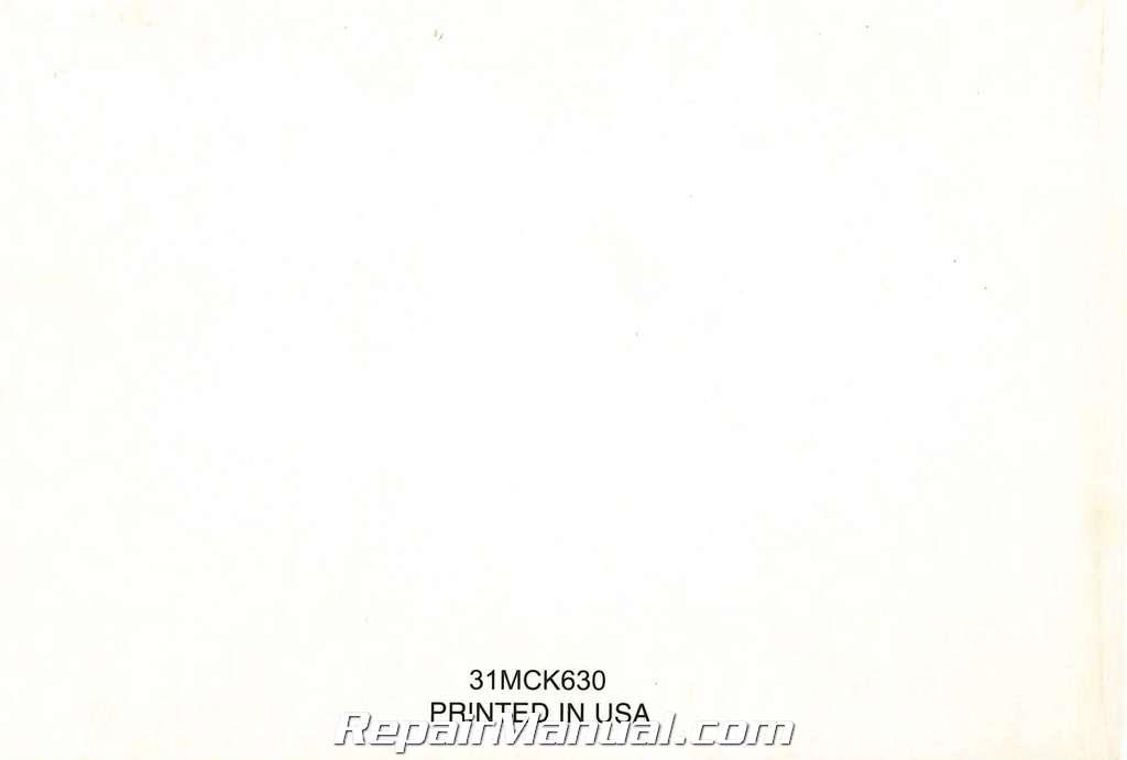 2003 Honda Vt1100c2 Shadow Sabre Motorcycle Owners Manual