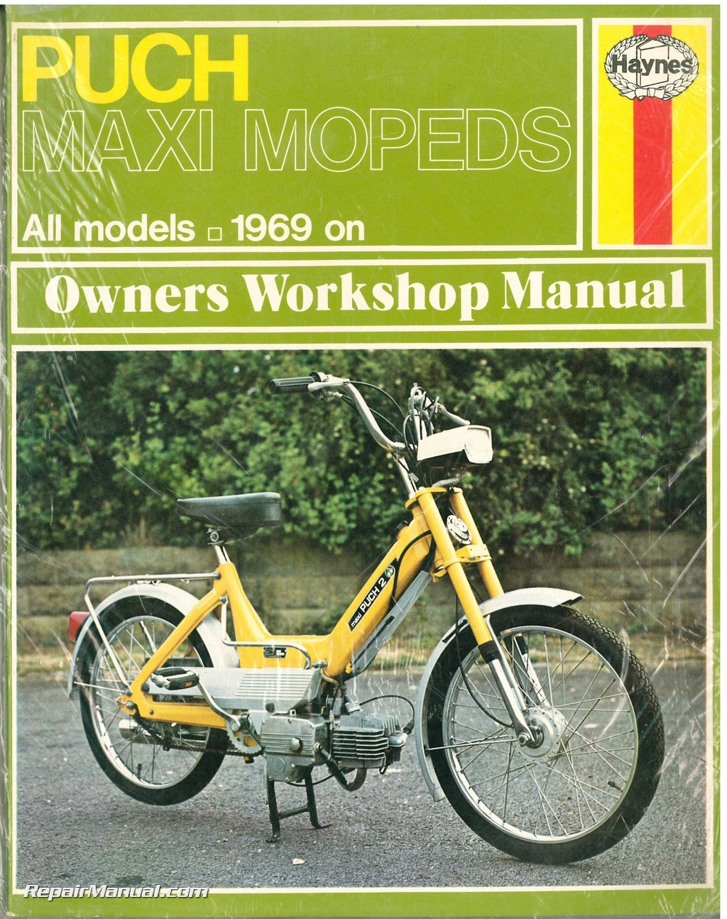 Puch Maxi Moped Owner's Workshop Manual