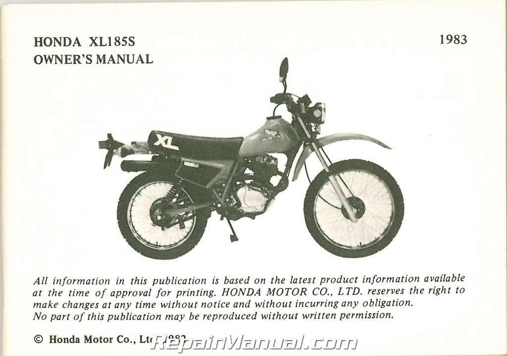 honda cr80 service manual