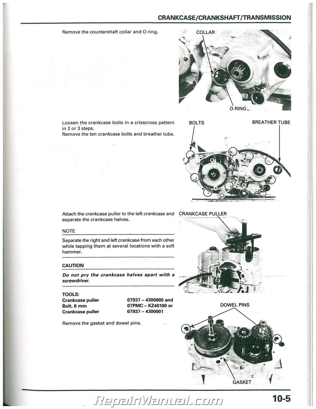 1997 1998 1999 honda cr250r motorcycle service manual rh repairmanual com 1993 Honda CR250 2000 Honda CR250