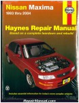Haynes Nissan Maxima 1993-2004 Auto Repair Manual_001