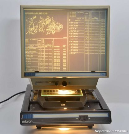 Motorcycle Parts Microfiche