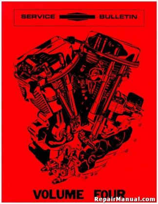 Harley-Davidson Service Bulletins All Service Bulletins Volume 4 1957-69