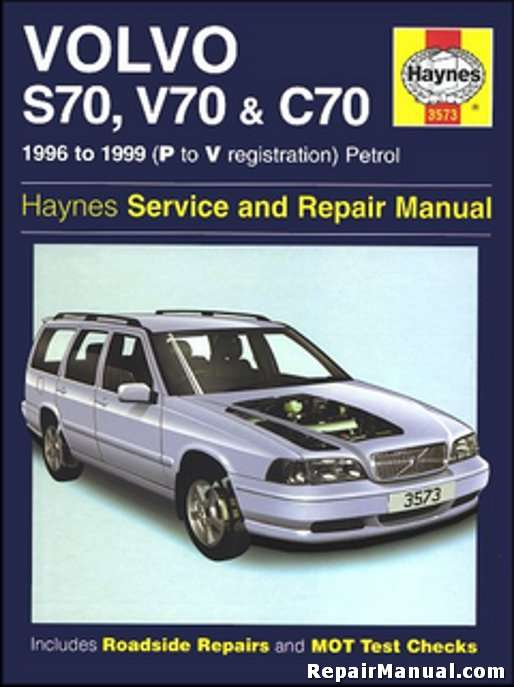 haynes 1996 1999 volvo s70 v70 c70 auto repair workshop manual rh repairmanual com 1999 Volvo S80 Engine 1999 volvo s80 repair manual pdf