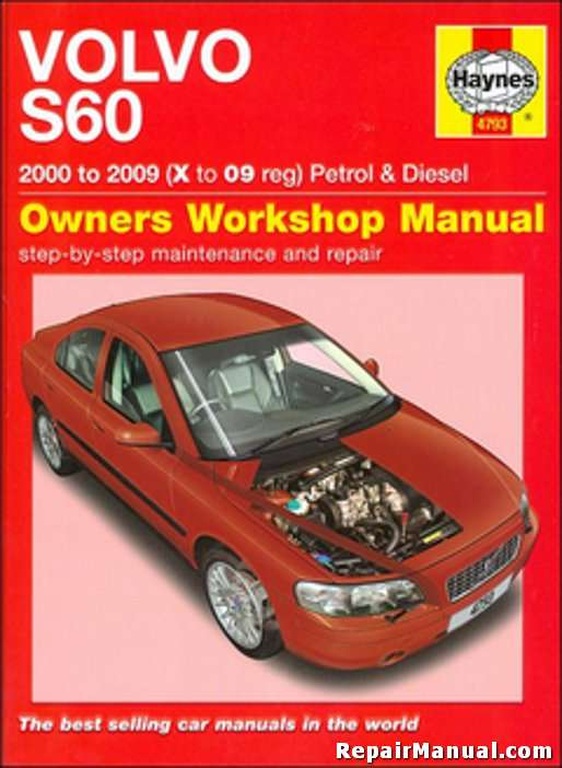 Volvo S60 Auto Gasoline Diesel 2000-2009 Haynes Repair Manual