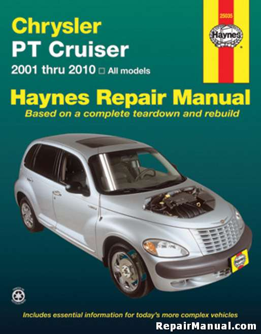 pt cruiser service manual haynes 2001 2010 rh repairmanual com auto service manuals for sale auto service manuals torrent