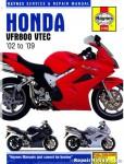 Haynes Honda VFR800 V-Tec V-Fours 2002-2009 Motorcycle Repair Manual