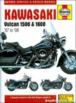 1987-2008 Kawasaki Vulcan 1500 Vulcan 1600 Motorcycle Repair Manual
