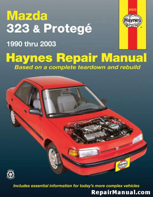 haynes mazda 323 protege 1990 2003 auto repair manual rh repairmanual com 1988 mazda 323 owner's manual 1988 mazda 323 service manual