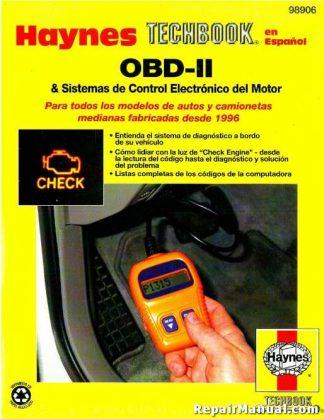 Haynes OBD-II Electronic Engine Management Systems Spanish