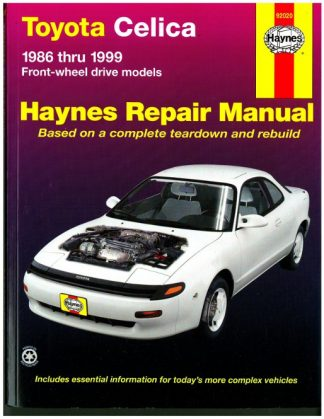 Haynes Toyota Celica Front-Wheel Drive 1986-1999 Auto Repair Manual