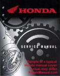 Used Official 1984 Honda CR500R Factory Service Manual